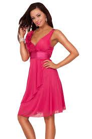 chic sleeveless satin mesh sheer design bridesmaid prom