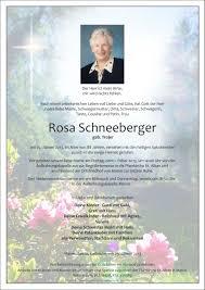 Rosa K He Kaufen Verstorbene R Rosa Schneeberger Trauerhilfe Bestattungs Gesmbh