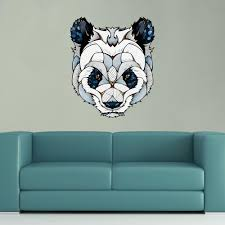Window Wall Mural Highlands Peel The Winner Panda Bear Wall Decal Sticker Circle By Balazs Solti