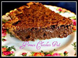 sweet tea and cornbread german chocolate pie