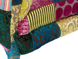 sofa bunt sofa patchwork design stoff bunt 3 sitzer 230 cm sitzmöbel