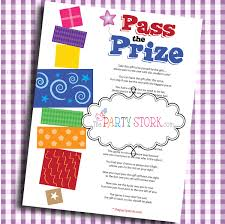 interactive bridal shower pass the prize baby shower baby or bridal shower