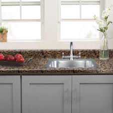 home depot kitchen cabinet tops hton bay 8 ft laminate countertop in brown with