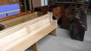 antique church pews and chairs for sale youtube