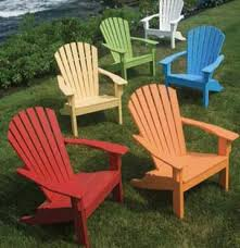 North Carolina Patio Furniture Seaside Casual Outdoor Furniture Adirondack Chair Recycled Plastic