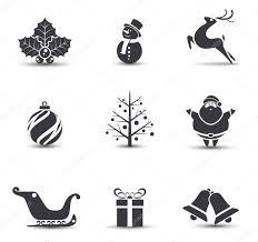 christmas icons stock vectors royalty free christmas icons