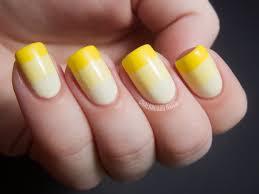 nail arts yellow nail art designs