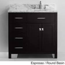 single sink vanity with drawers the caroline parkway 36 inch single sink vanity set is equipped with