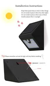 28leds led solar light pir motion sensor lamp ip65 waterproof
