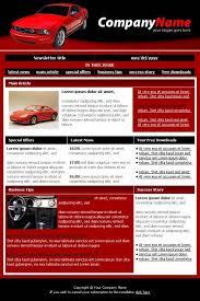professional car dealer newsletter template templatesbox com