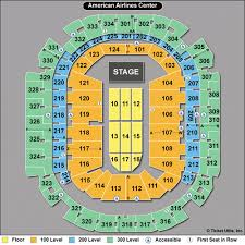 aac map airlines center tickets aac events seating chart