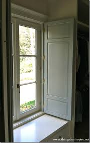Interior Shutters For Windows Closet Shutter Projects To Try Pinterest Window Shutters