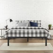 No Box Spring Bed Frame Zinus Modern Studio Platform 1500 Metal Bed Frame Mattress