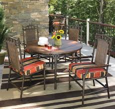 Patio Dining Chairs With Cushions Woodard Chatham Patio Dining Chair With Cushion Reviews Wayfair