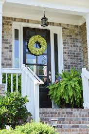 Front Porch Topiary Front Porch Throughout The Seasons And Why Ferns In Urns Are The
