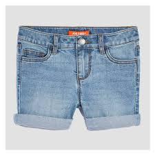 light wash denim shorts kid girls denim shorts in light wash from joe fresh