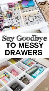 Diy Desk Organization by Best 25 Desk Drawer Organizers Ideas On Pinterest Desk