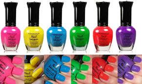 best neon colored nail polish photos 2017 u2013 blue maize