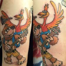 10 retro banjo kazooie tattoos