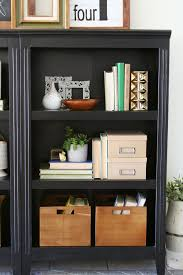 tips for styling bookshelves