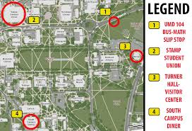 Dc Metro Bus Map by Campus Tours Directions To Campus