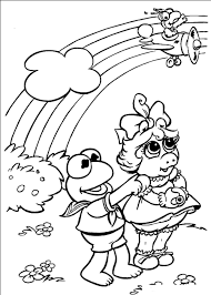rainbow coloring pages free printable funycoloring