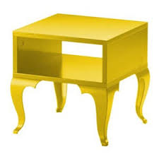 Yellow Side Table Louis Comes To Ikea The Trollsta Collection Apartment Therapy