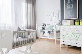 chambre bebe garcons chambre bébé garçon grise et blanche avec rangements chambre
