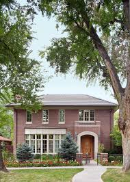 Brick Colonial House Exterior Paint Choosing Colors For Brick Home Construct House As