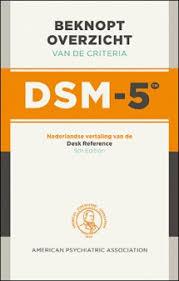 Dsm 5 Desk Reference Beknopt Overzicht Van De Criteria Van De Dsm 5 Paperback
