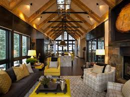 mountain home interior design ideas rustic mountain style lake tahoe home idesignarch