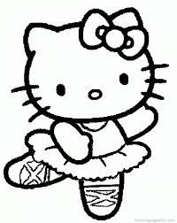 kue ultah kitty drawing coloring kids coloring