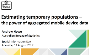 australian bureau statistics the australian bureau of statistics tracked by their mobile