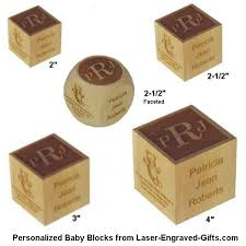 baby engraved gifts laser engraved gifts adds new larger personalized baby blocks