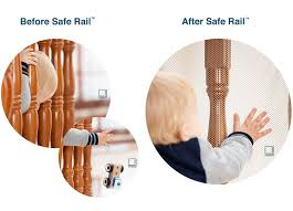 amazon com roving cove safe rail 10ft l x 3ft h indoor