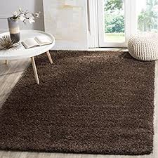 Brown Area Rugs Safavieh California Shag Collection Sg151 2727 Brown