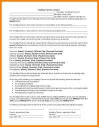 wedding planner contracts event planner contract zoro blaszczak co