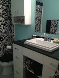 zebra bathroom ideas 11 best bling bathroom ideas images on bathroom ideas