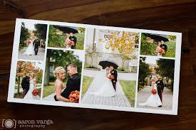 Best Wedding Photo Album Brown And Red Leather Flush Mount Wedding Album
