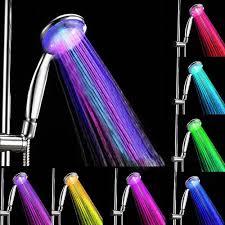 Bath Handheld Shower 2017 New Handheld 5 Led Romantic Light Water Bath Home Bathroom