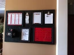 painting life red u0026 black uga organizational board
