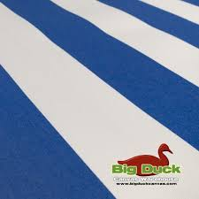 Yard Flags Wholesale Marine Awning Outdoor Fabric Wholesale Blue White Stripe Seaduck