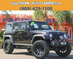 lifted jeep 2 door 2015 jeep wrangler lifted in california for sale 27 used cars