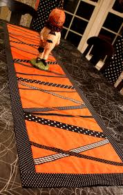 first lady of the house halloween table runner