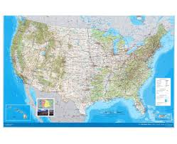 United States Topographic Map by United States Topographical Map Students Britannica Kids United
