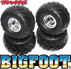 bigfoot electric monster truck 4 traxxas 1 10 bigfoot monster truck mounted wheels and tires for