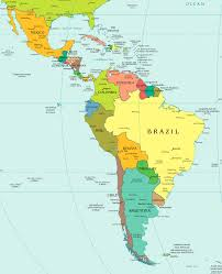 Map Of Colombia South America by Latin America Map Labeled My Blog