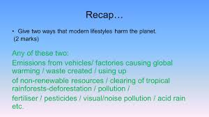 our polluted world at the end of the lesson you should be able to
