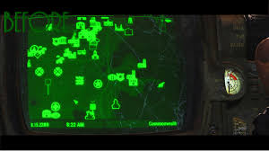 Fallout 4 Map by More Visible Quest And Map Markers At Fallout 4 Nexus Mods And