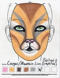 cougar makeup sketch u2014 weasyl